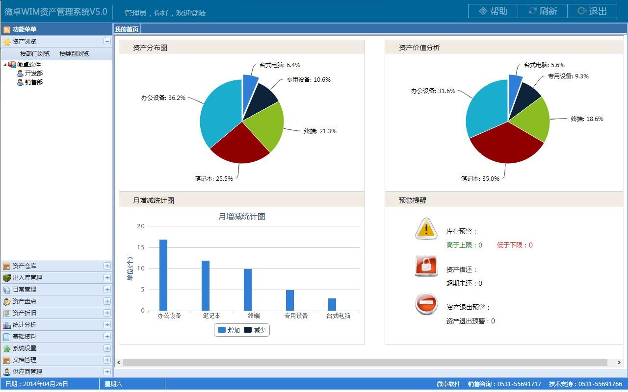 微卓wim资产管理系统