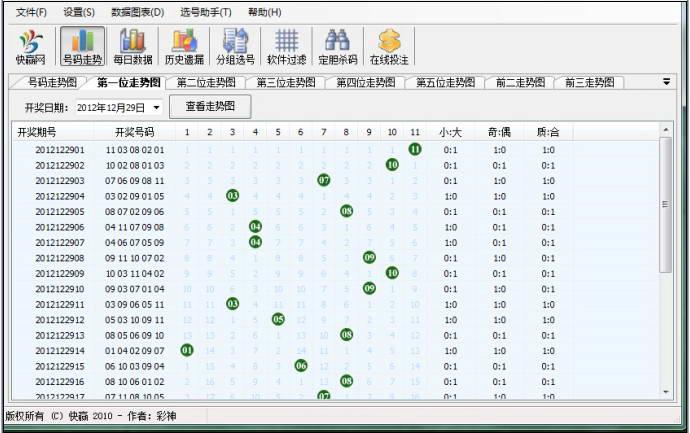 快赢广东11选5软件